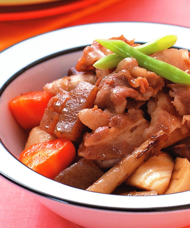 食譜:壽喜醬燒根莖時蔬