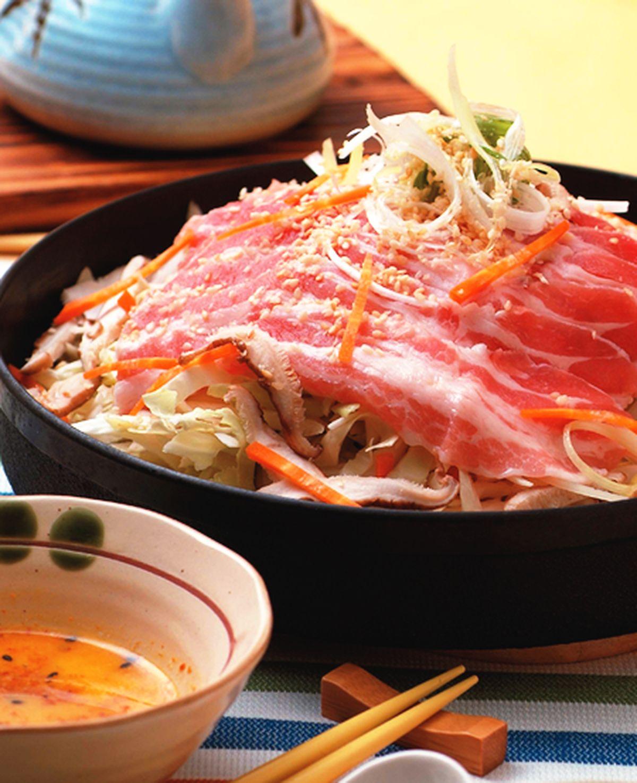 食譜:壽喜醬燒五花薄片