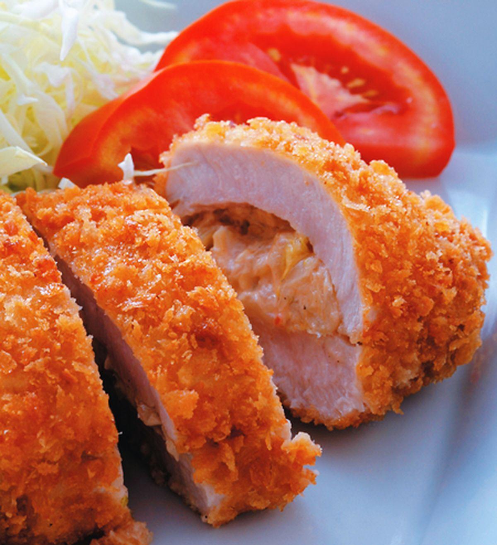 食譜:韓式泡菜炸豬排(1)