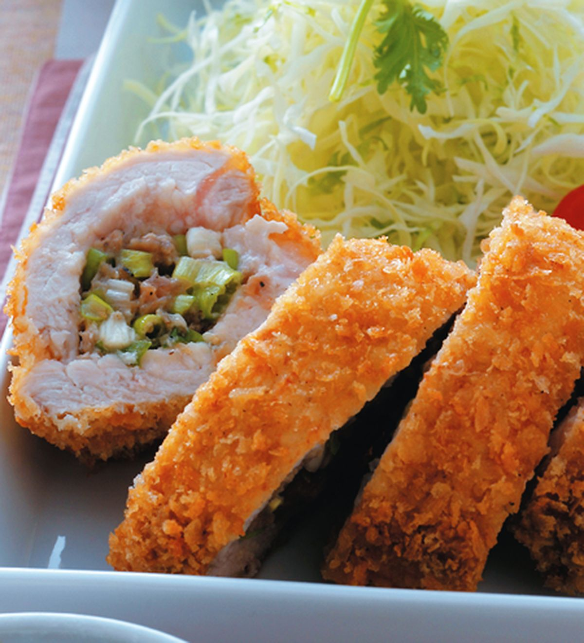 食譜:黑胡椒香蔥豬排