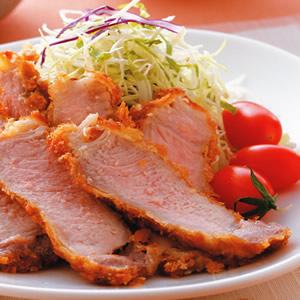 炸豬排沙拉