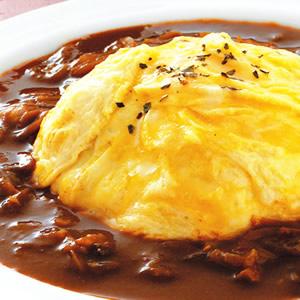 滑蛋蛋包咖哩飯