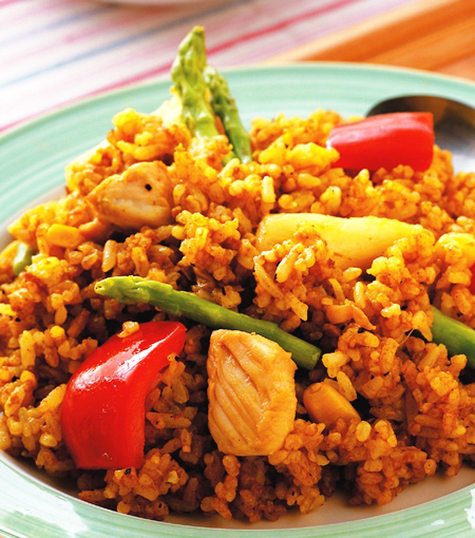 食譜:咖哩炒飯(1)