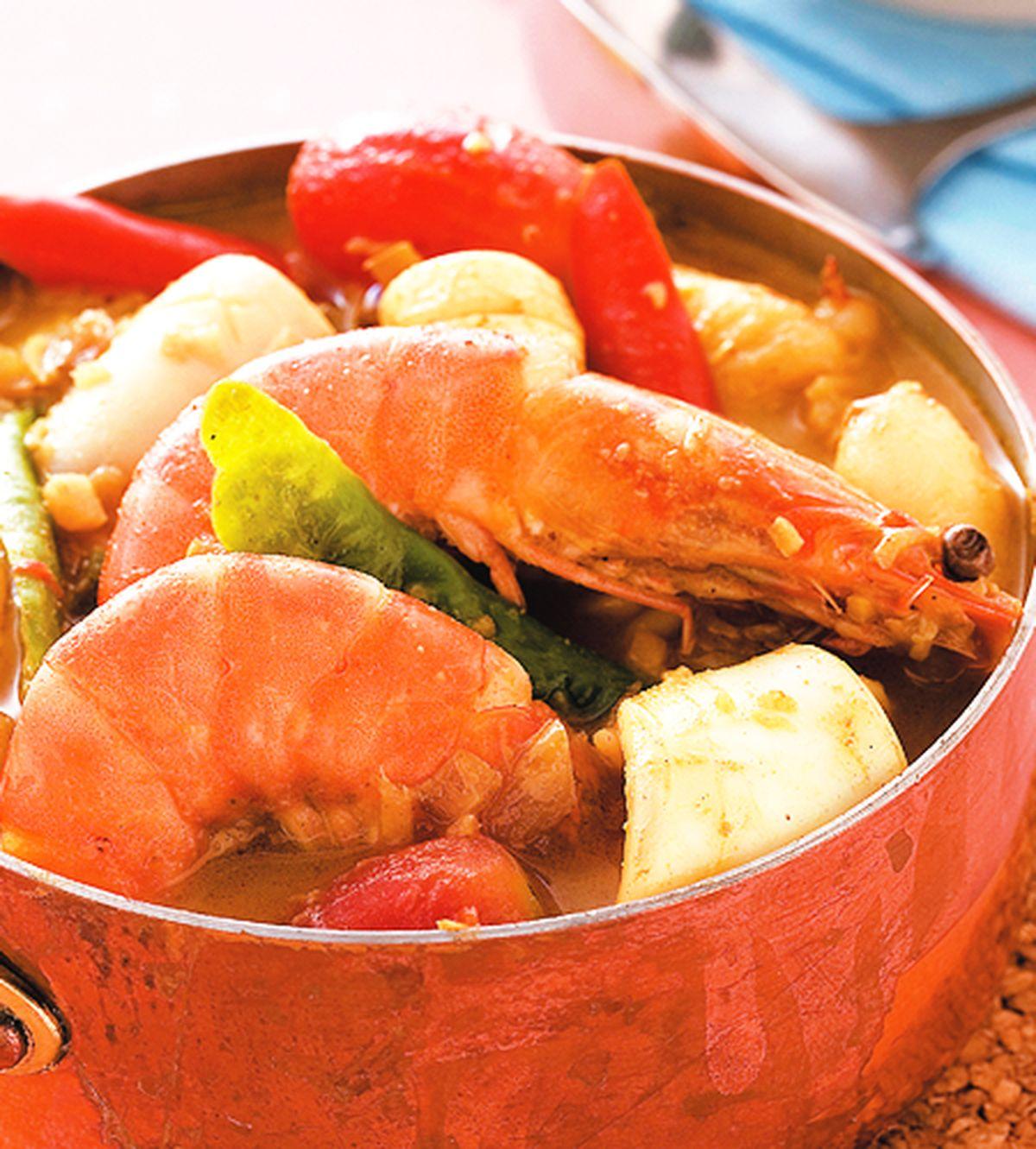 食譜:海鮮咖哩飯(1)
