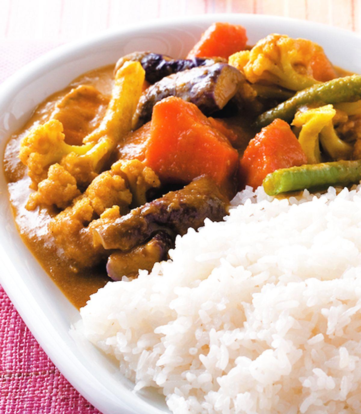 食譜:蔬菜咖哩飯