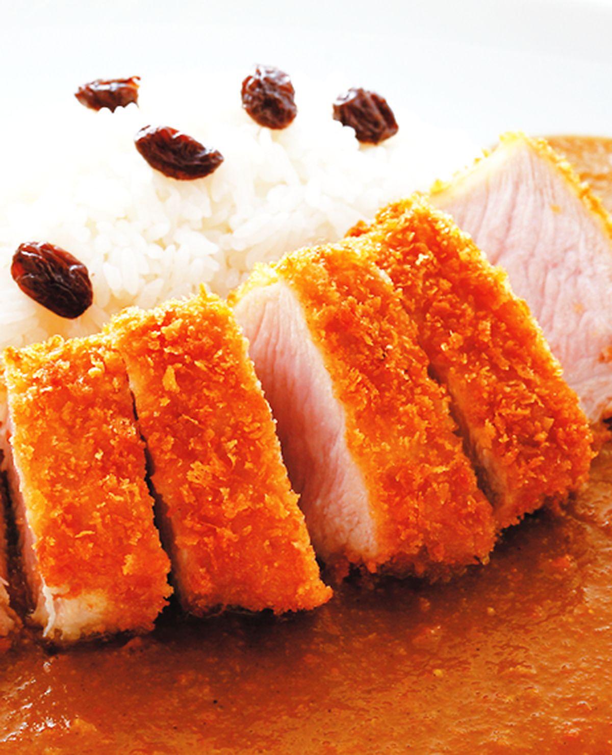 食譜:炸豬排咖哩飯