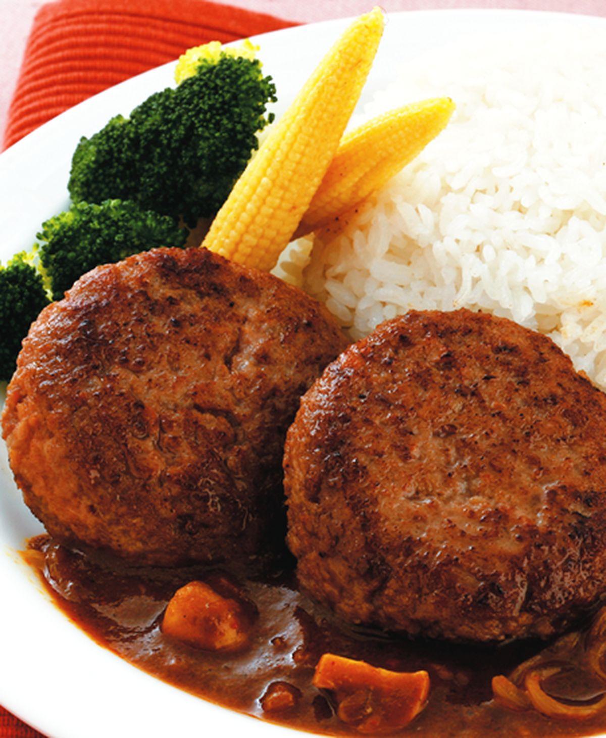 食譜:咖哩漢堡排
