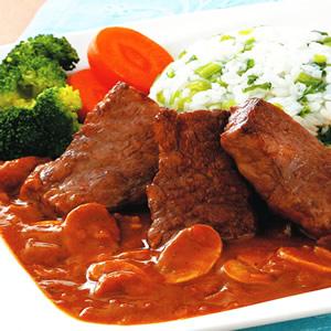 牛小排咖哩飯