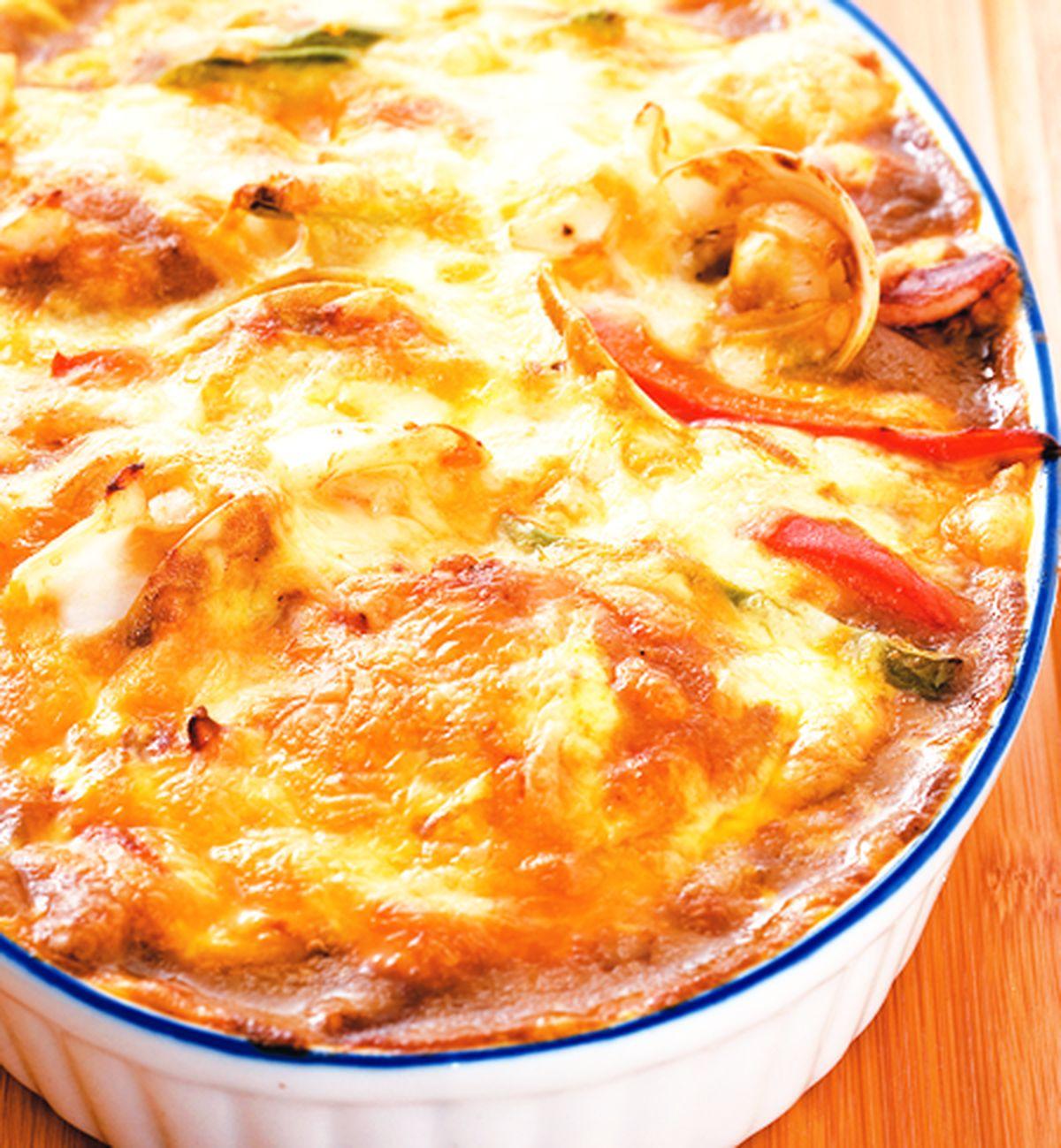食譜:焗海鮮咖哩飯(1)