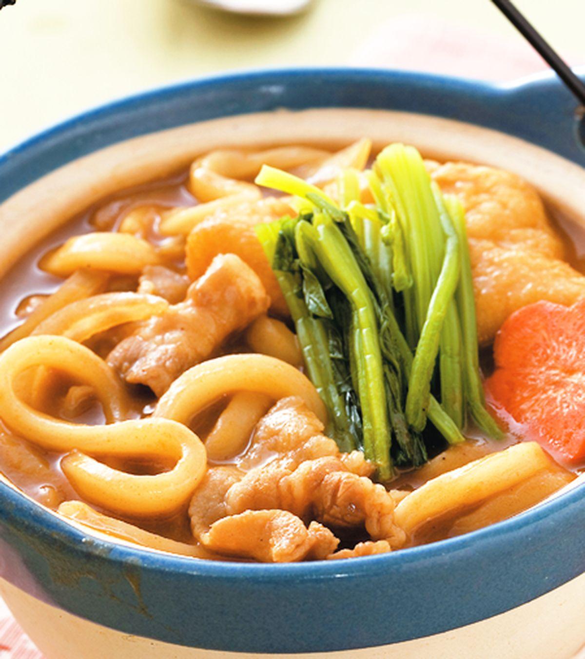 食譜:咖哩烏龍麵(2)