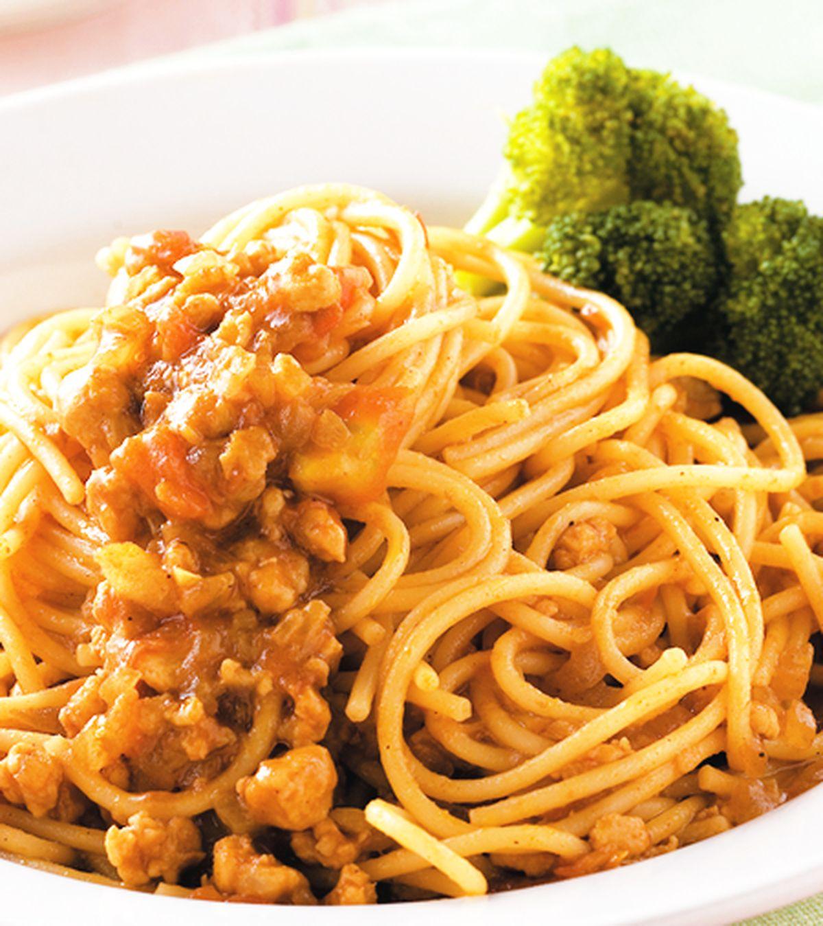 食譜:咖哩義大利麵