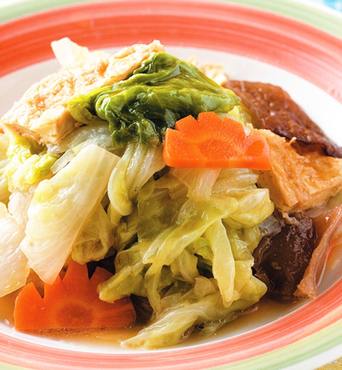 食譜:豆包木耳白菜