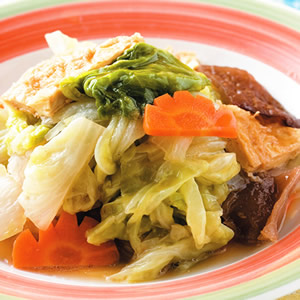 豆包木耳白菜