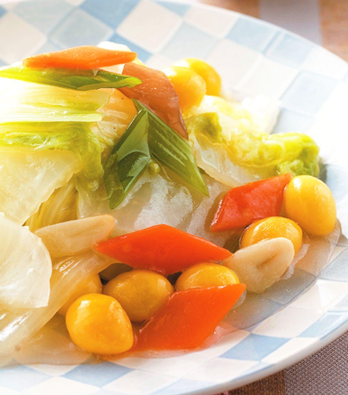 食譜:白果燴白菜