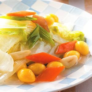 白果燴白菜