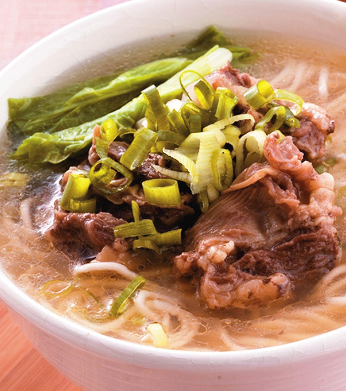 食譜:清燉牛肉麵