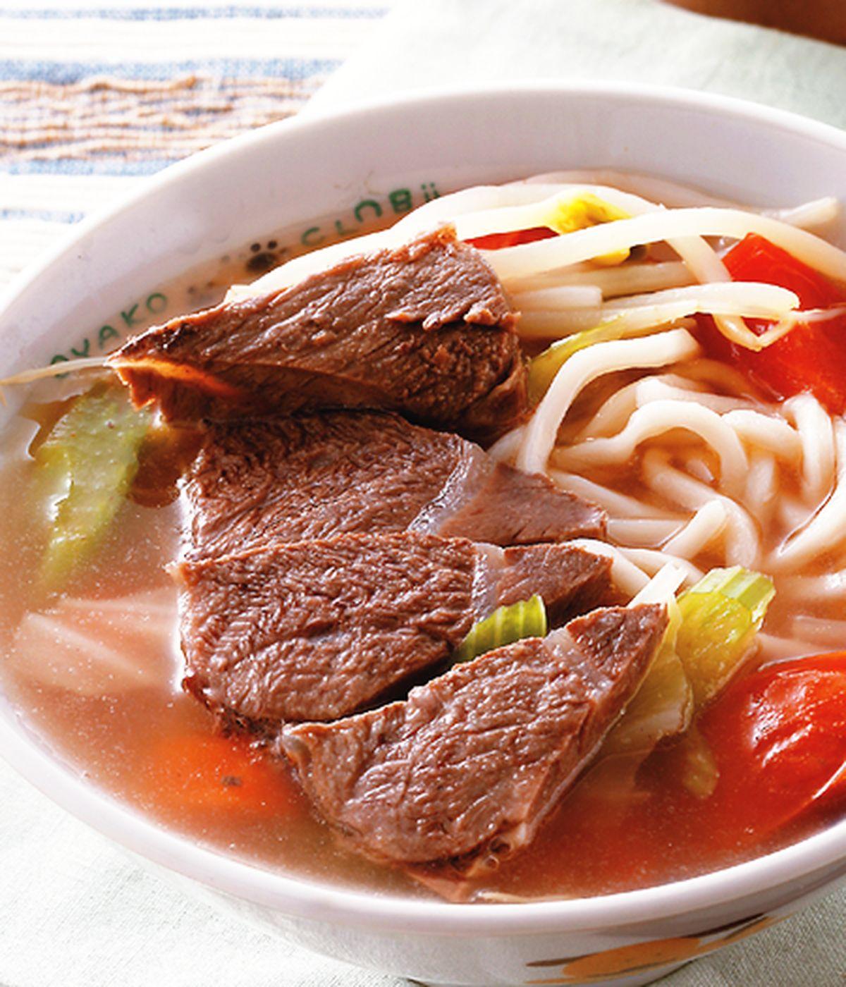 食譜:蔬菜牛肉麵