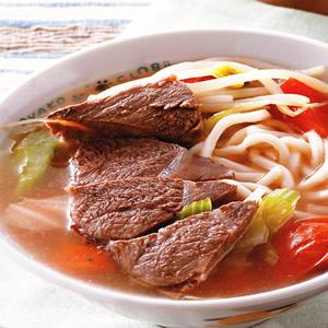 蔬菜牛肉麵