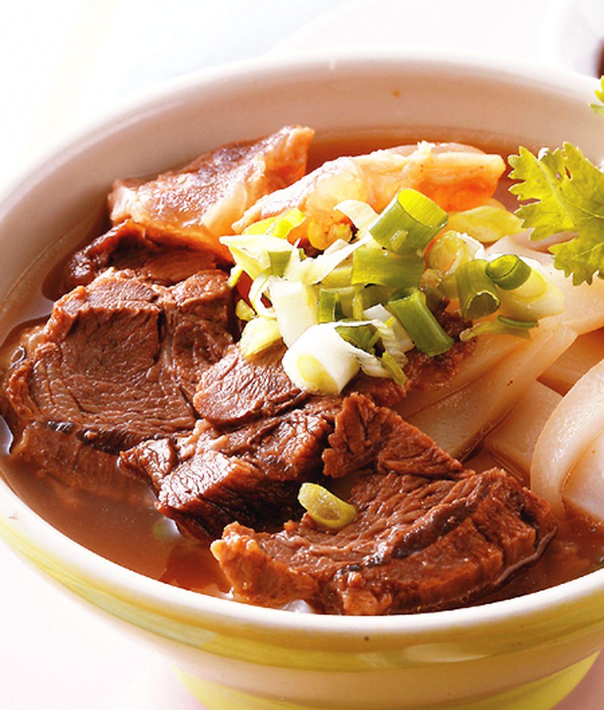 食譜:柱候牛肉麵