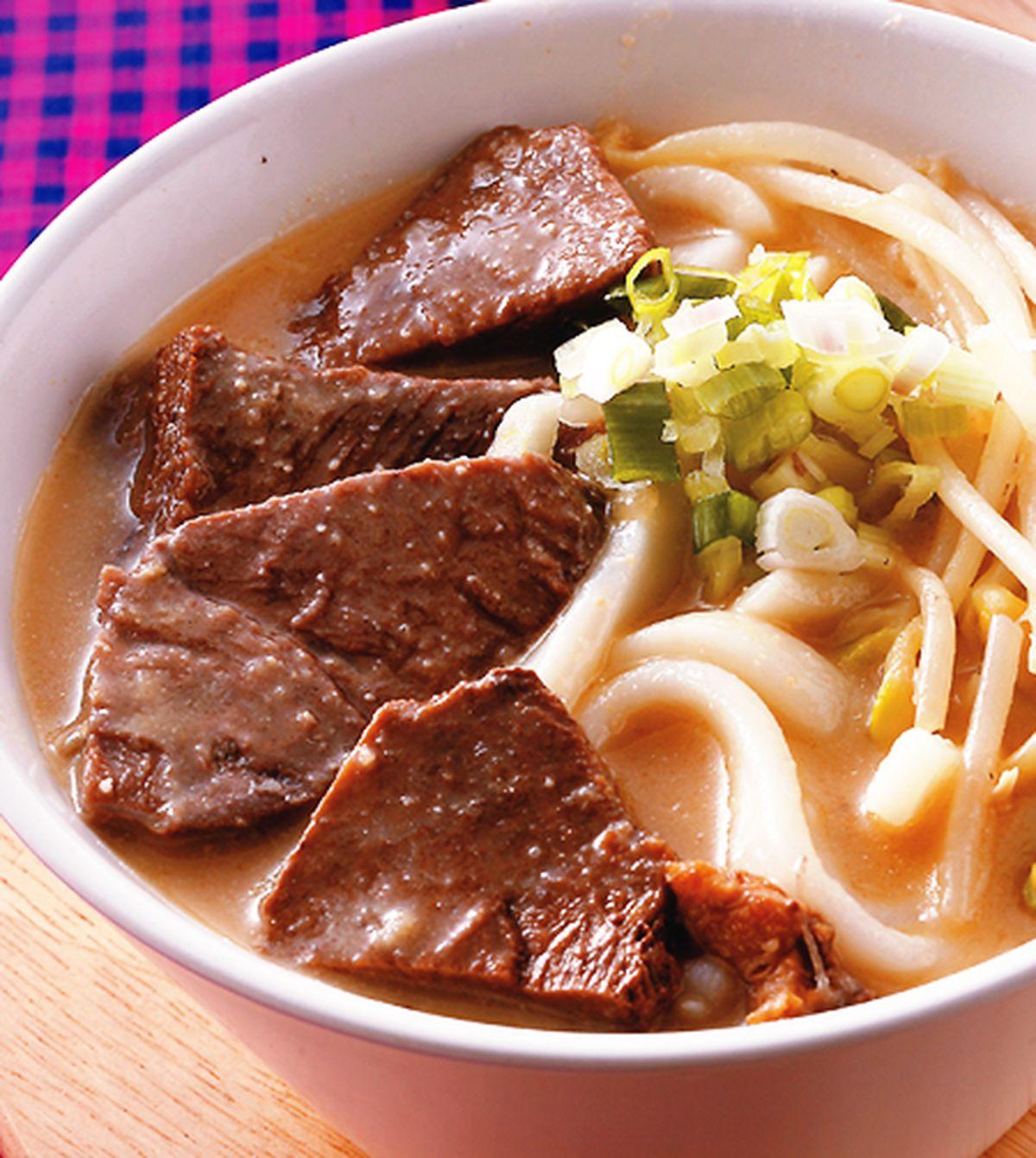 食譜:味噌牛肉麵