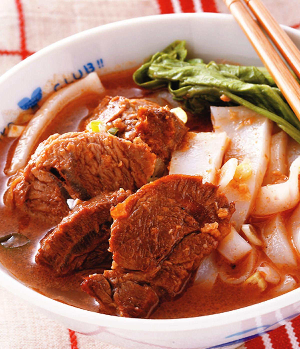 食譜:沙茶牛肉麵(1)