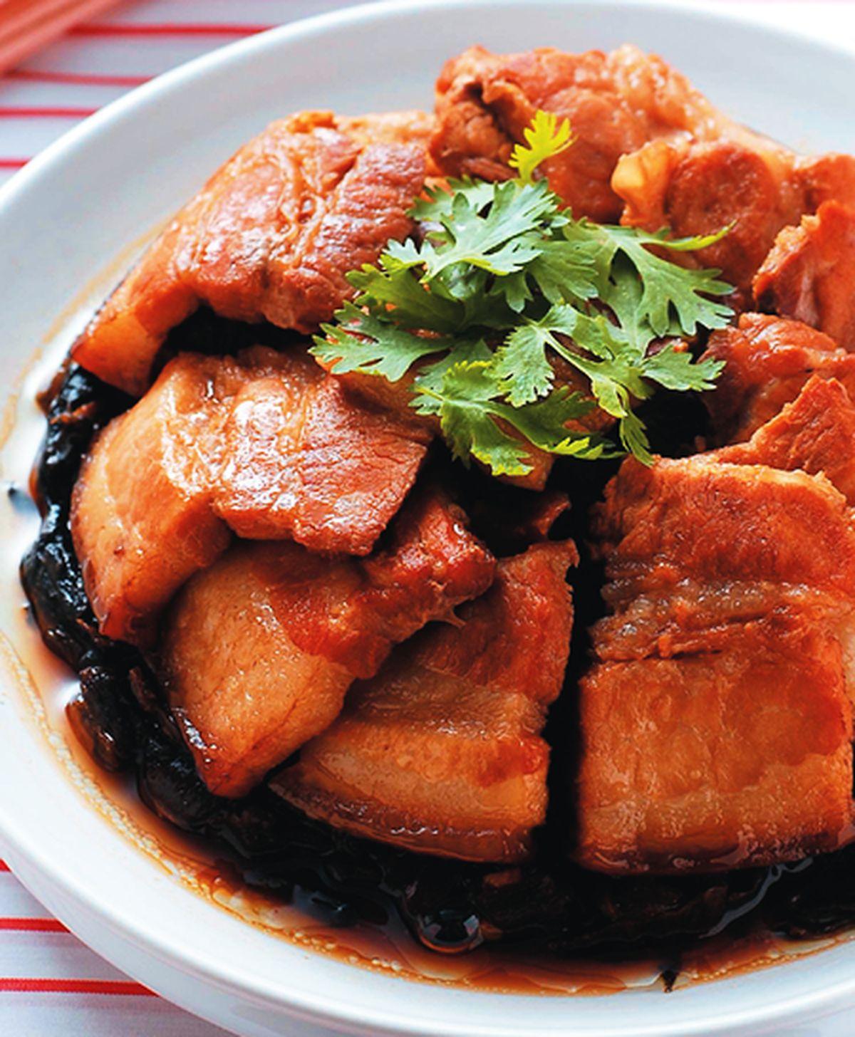食譜:梅干扣肉(4)