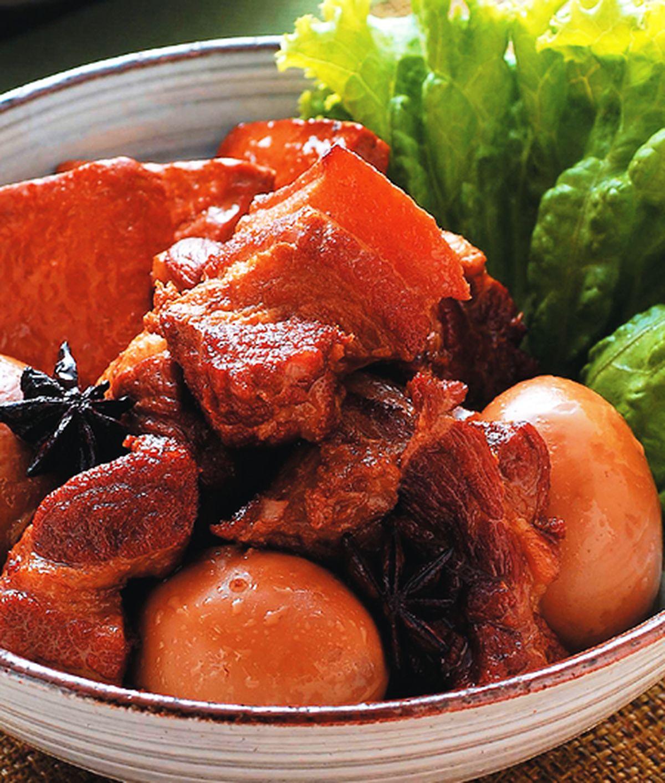 食譜:豆乾滷肉
