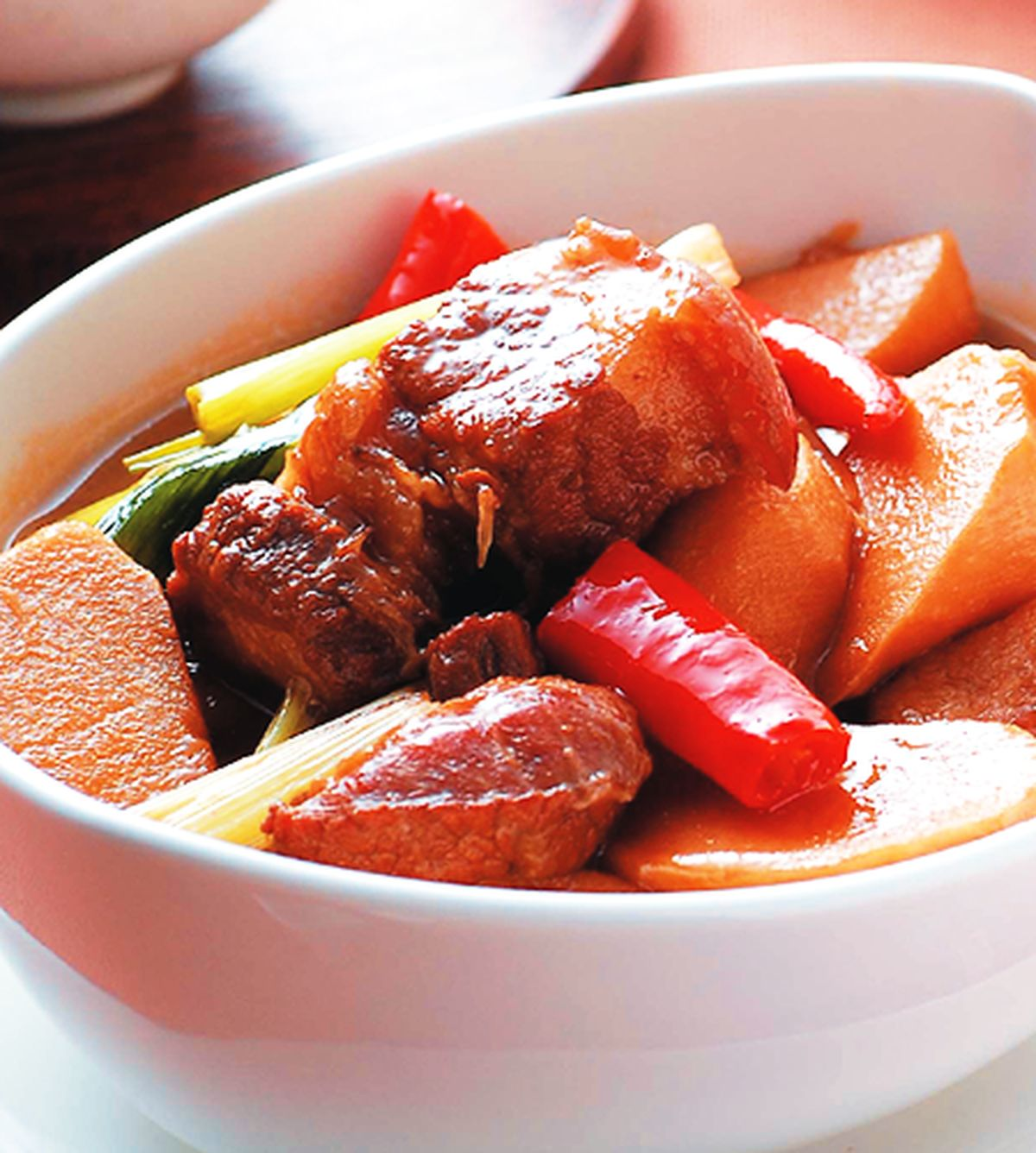 食譜:竹筍滷五花肉