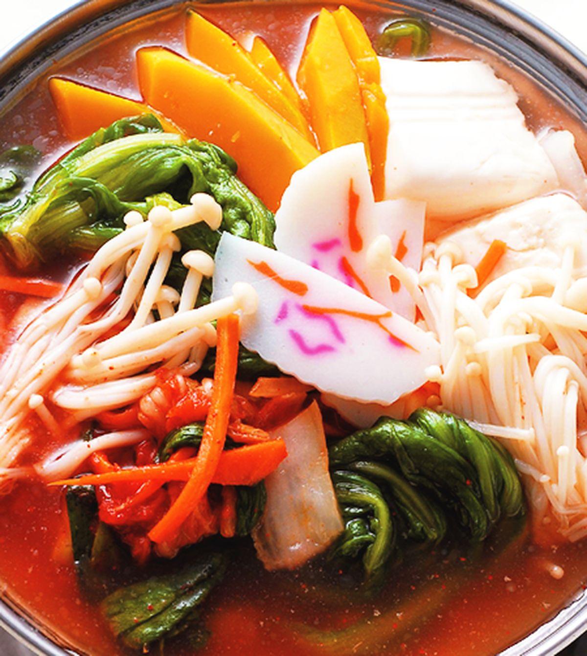 食譜:韓式蔬菜豆腐鍋
