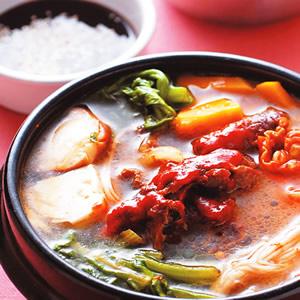 韓式牛肉鍋