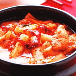 泡菜年糕鍋
