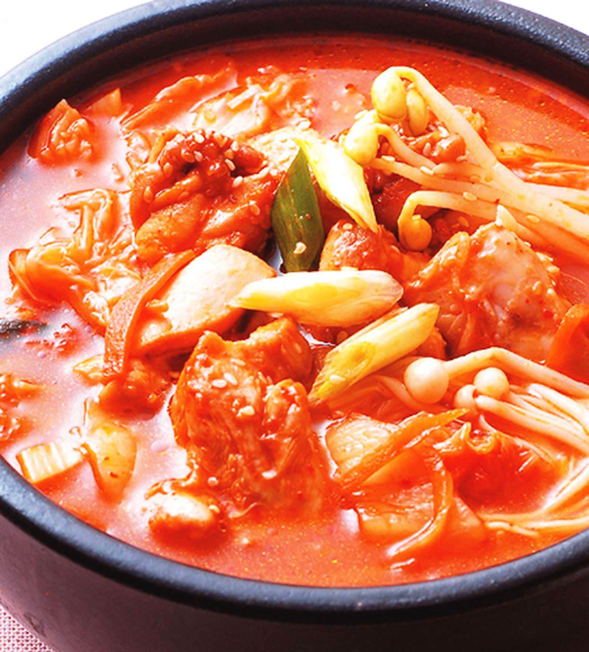 食譜:泡菜雞肉鍋