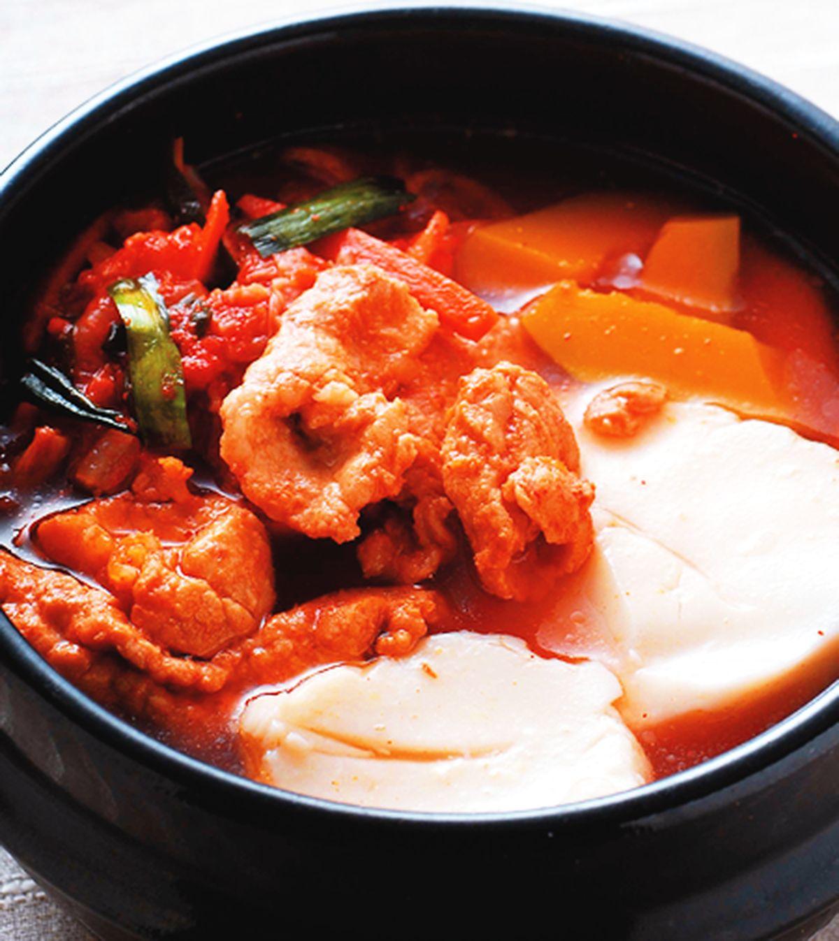 食譜:豆花泡菜鍋