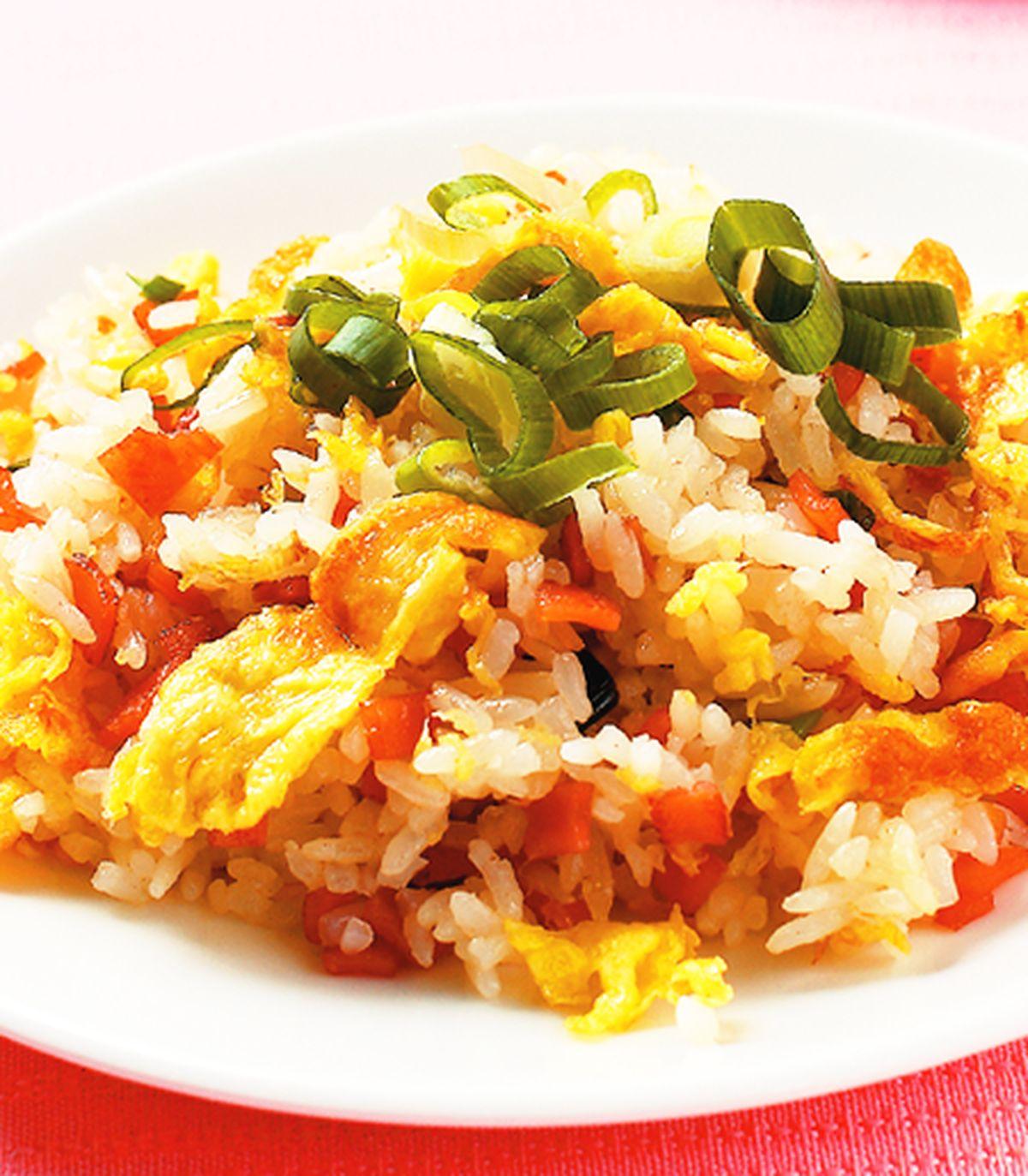食譜:火腿蛋炒飯