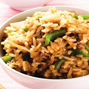 青椒牛肉炒飯(2)