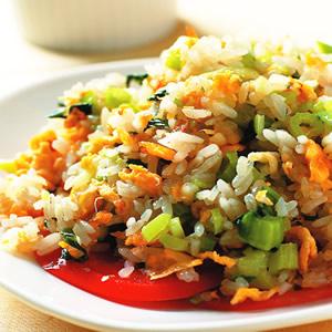 翡翠蛋炒飯(1)