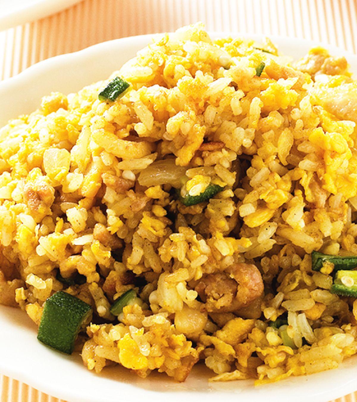 食譜:咖哩炒飯(2)