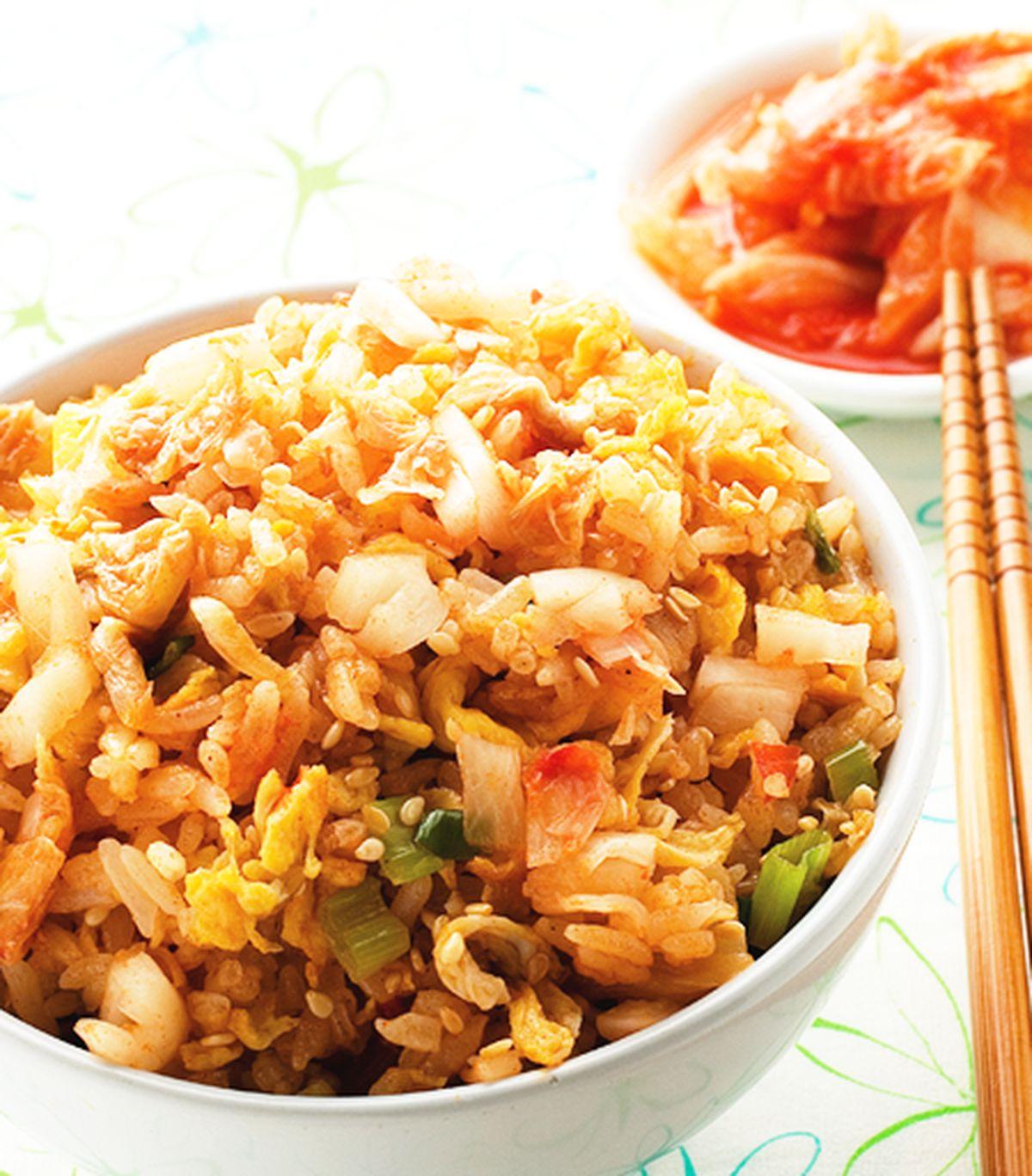 食譜:泡菜炒飯(1)