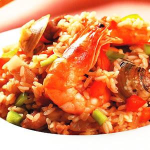 美式海鮮炒飯