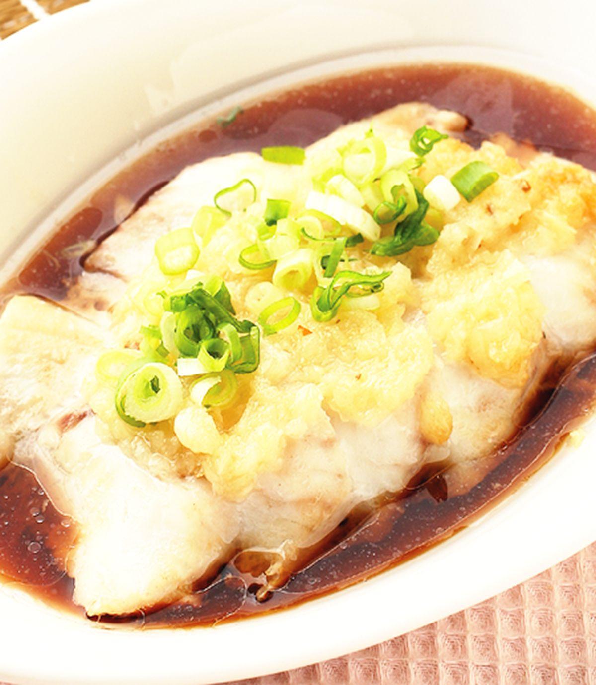 食譜:蒜泥蒸魚片