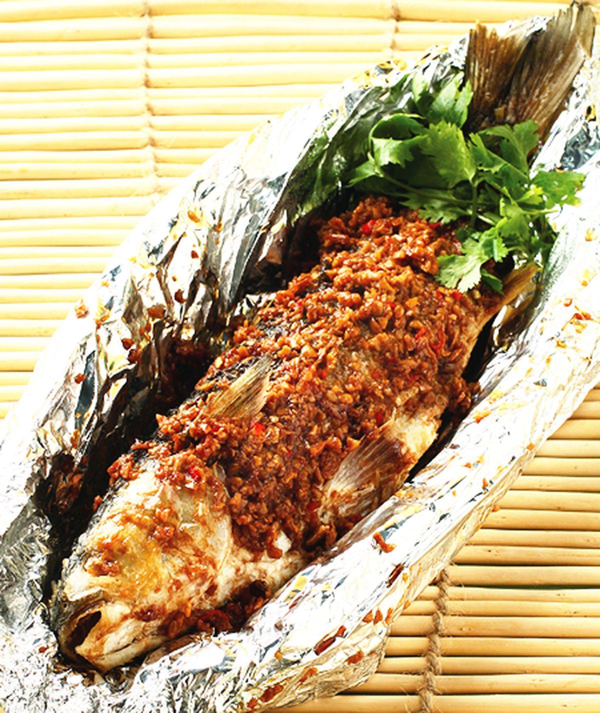 食譜:香蒜蒸魚