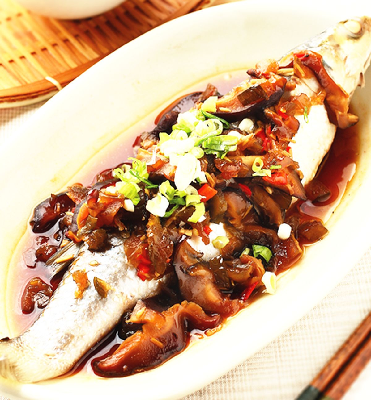 食譜:蔭瓜蒸魚