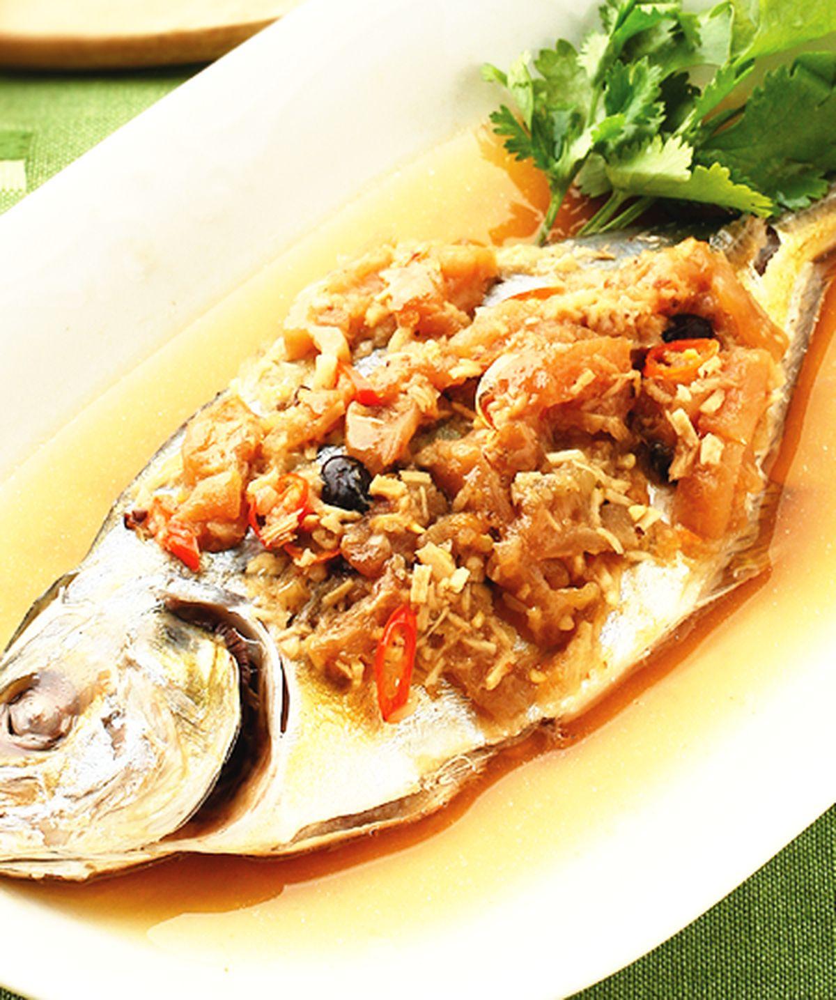 食譜:苦瓜蒸魚
