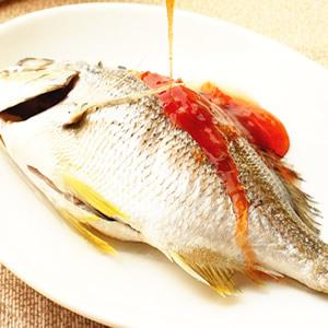 酸辣醬蒸魚
