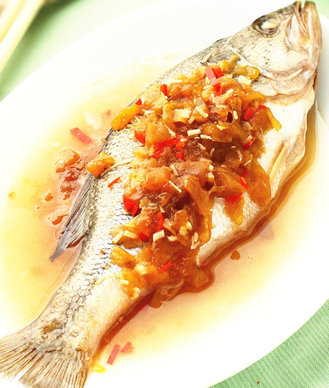 食譜:梅汁蒸魚