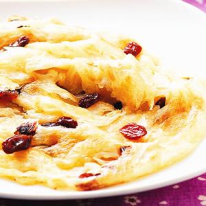 葡萄乾抓餅