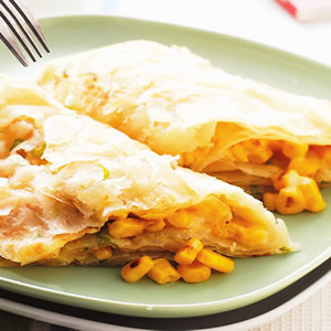 起司玉米蔥抓餅
