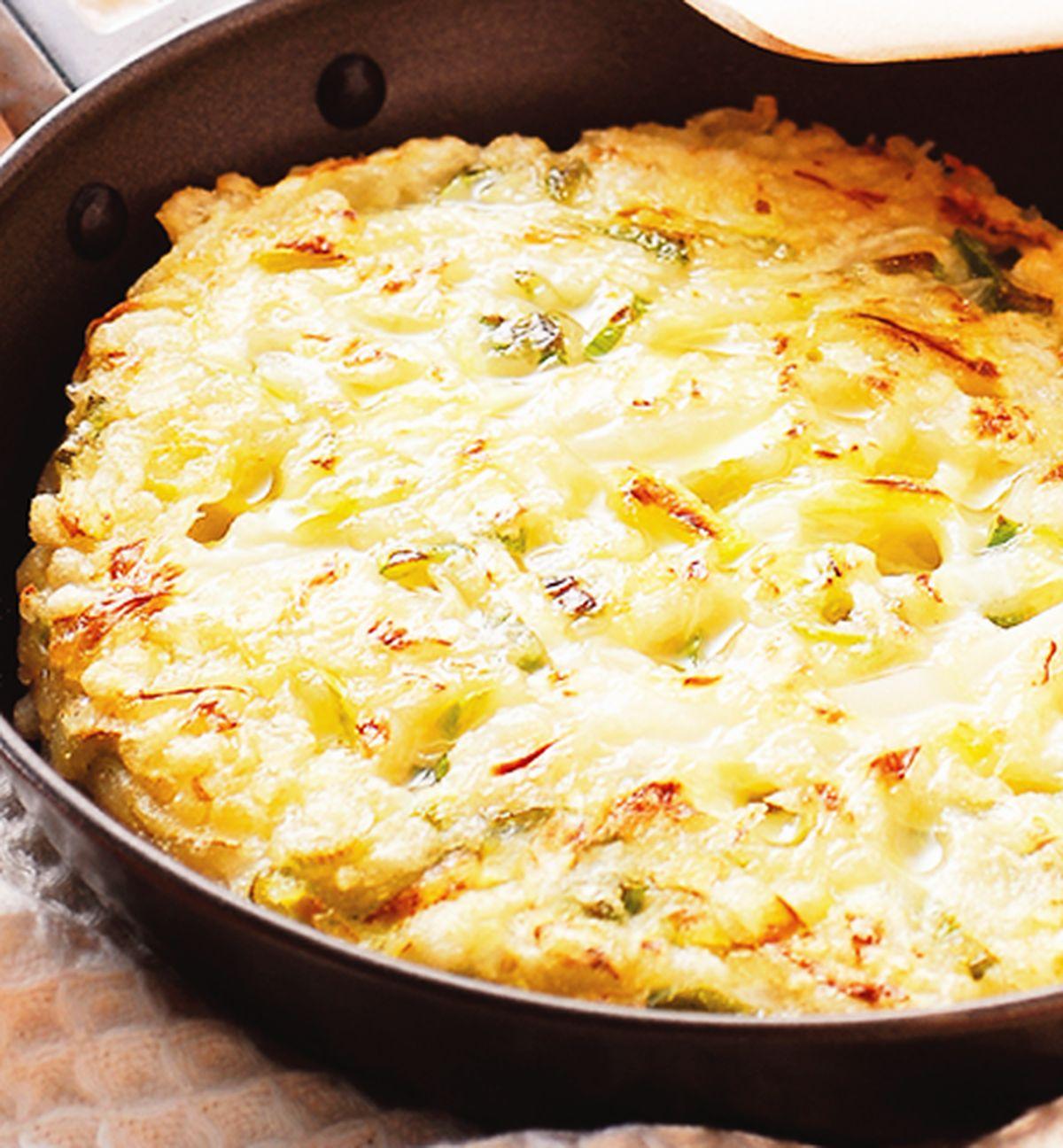 食譜:高麗菜蔥煎餅