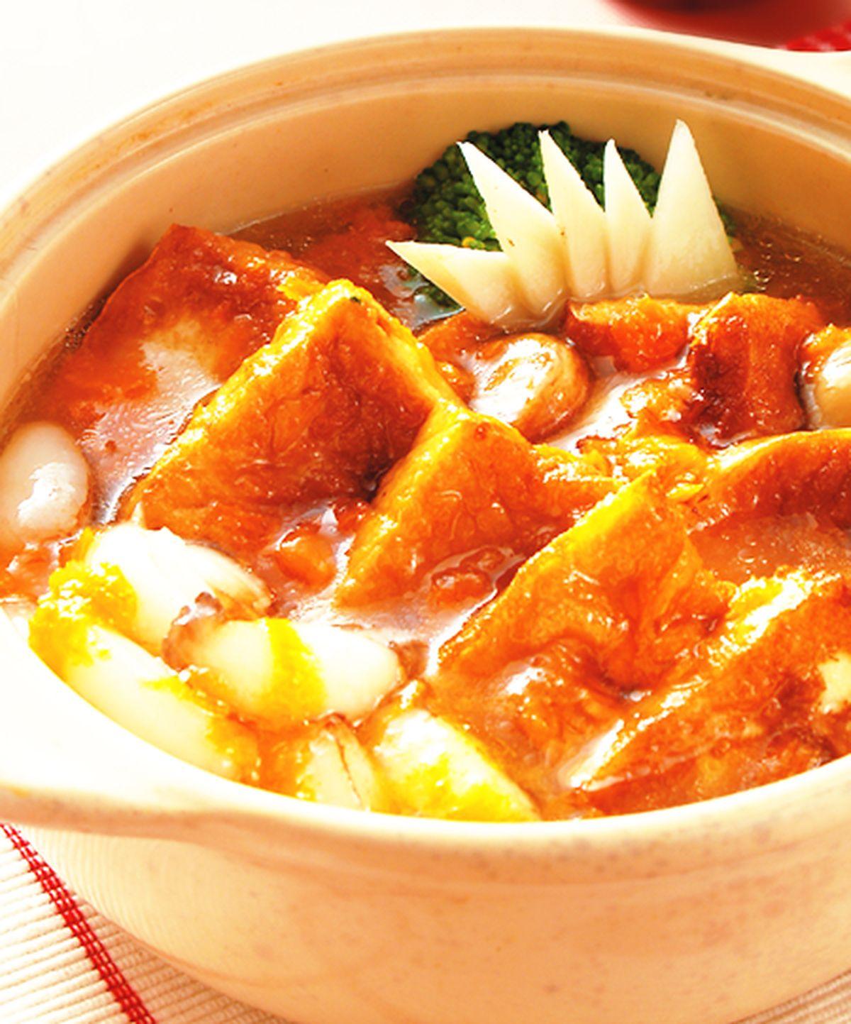 食譜:蟹肉豆腐煲