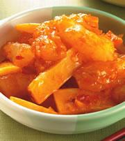 食譜:豆瓣蹄筋煲